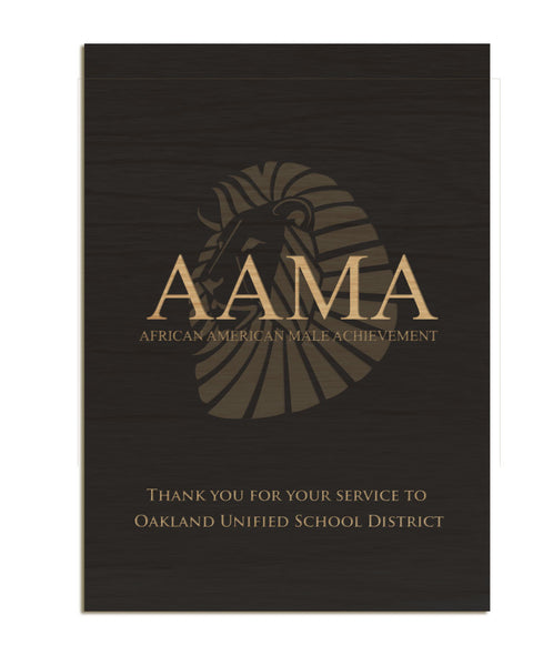 AMAA Recognition Plaque