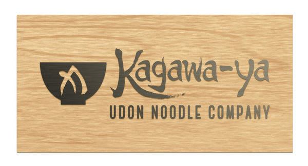 Kagawa-Ya - Raised Sign