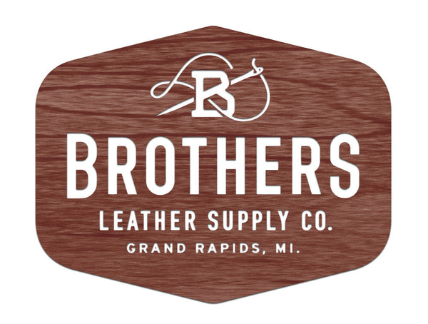 Brothers Leather Supply Co. - Floating Sign, Version 2
