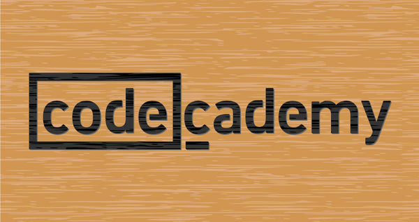 Code Academy - Etched Sign
