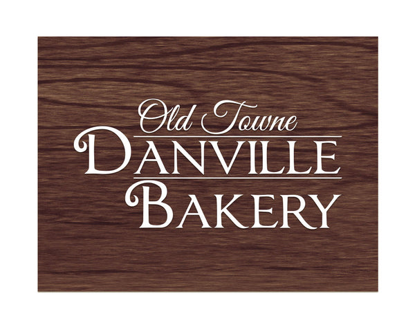 Old Towne Danville Bakery - White artwork