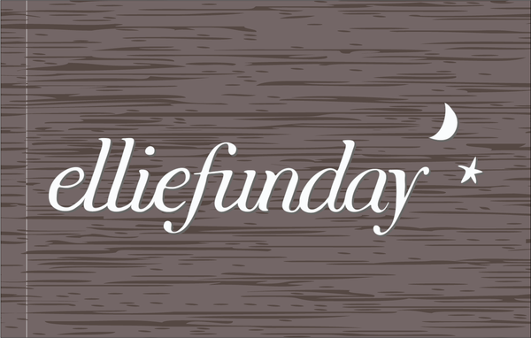 EllieFunDay - Etched Sign