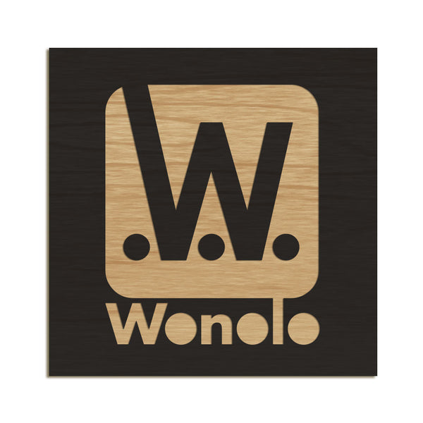 Wonolo - Etched Sign