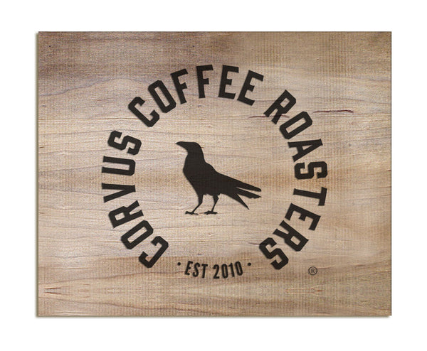 Corvus Coffee - Tabletop Signs