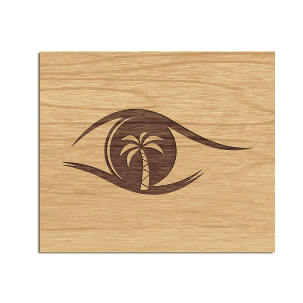 Bayside Family Eye Care - Etched Sign