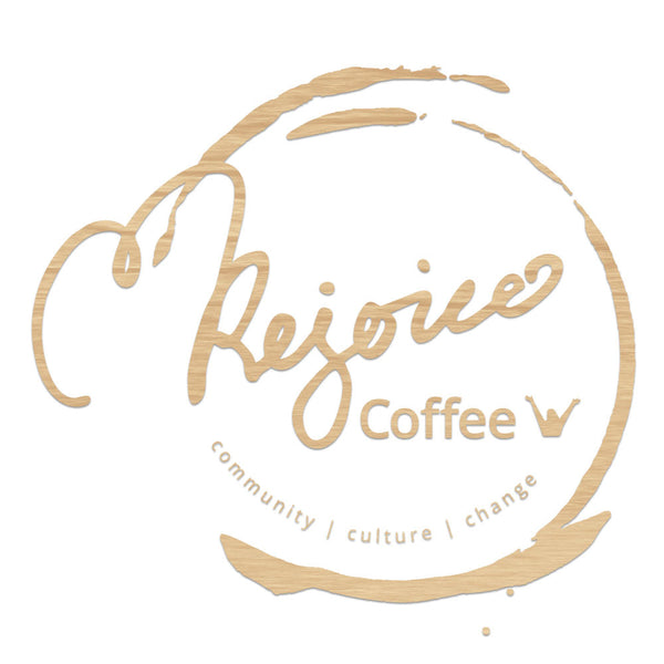 Rejoice Coffee - Floating Sign