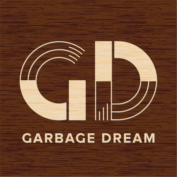 Garbage Dream - raised sign