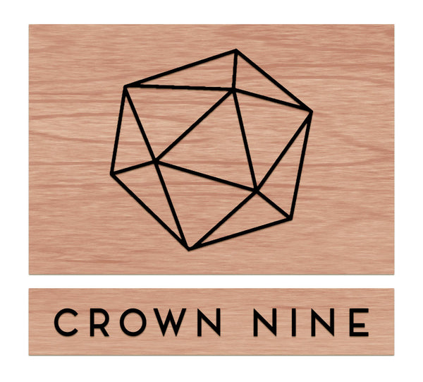 Crown Nine - Hanging Sign