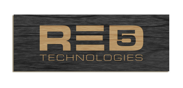 RED5 - Tabletop Sign
