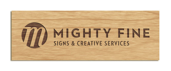 Mighty Fine Sign