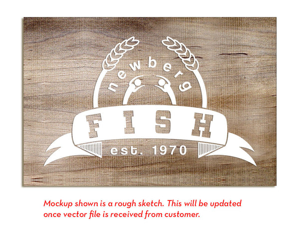 Newberg FISH Emergency Service - Etched