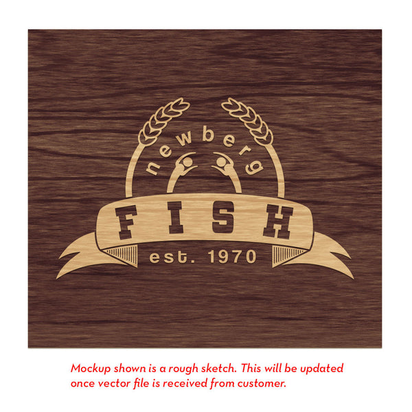 Newberg FISH Emergency Service - Raised Sign