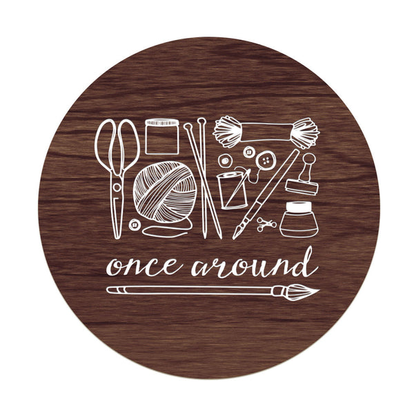 "Once Around - 24"" diameter"