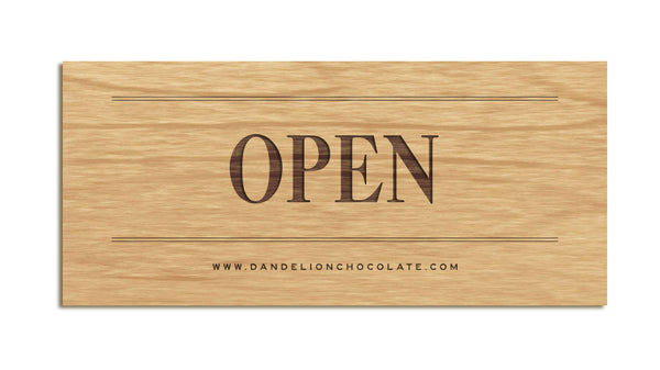 Dandelion Chocolate - Open