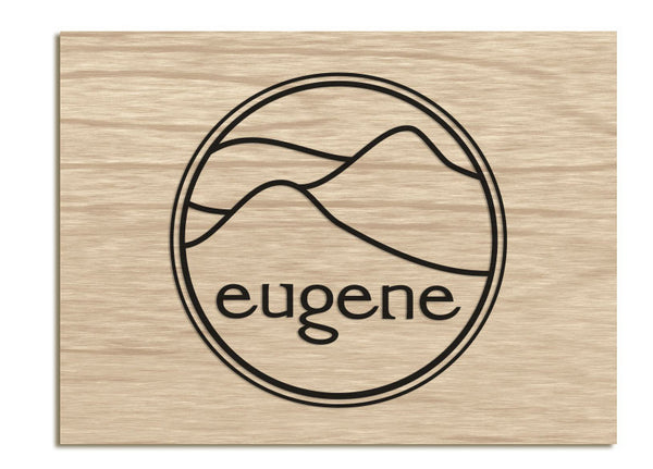 Cafe Eugene - Raised Sign