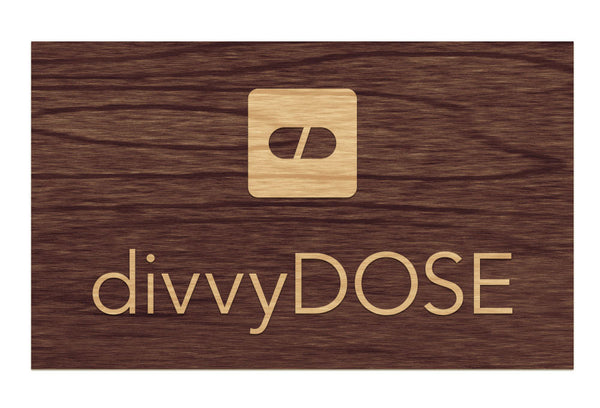 DivvyDose - Raised Sign