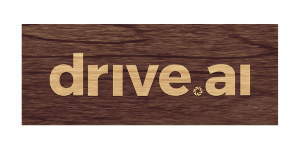 Drive.ai - Raised Sign