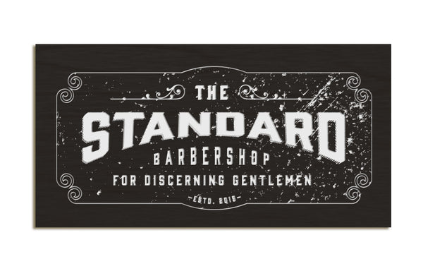 The Standard Barbershop - Gold artwork