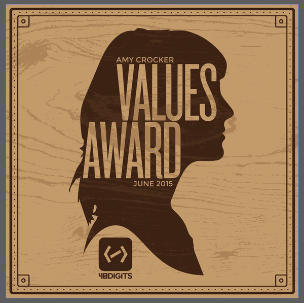 40 Digits - Values Award