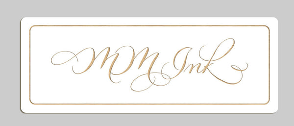 MM Ink - Etched Sign
