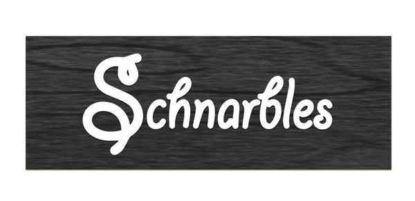 Schnarbles - All wood