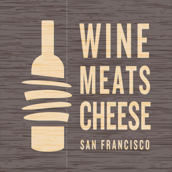 Wine, Meats, Cheese