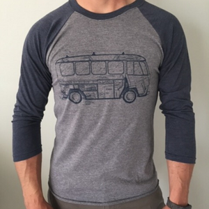 VW Bus 3/4 Length Tee