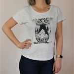 Load image into Gallery viewer, Mountain Owl Yoga Tee
