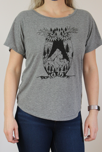 Mountain Owl Yoga Tee
