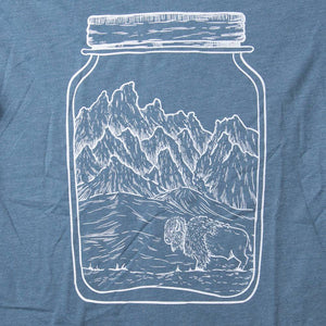 Mason Jar Heathered