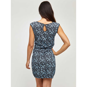 Paulina Hummingbird Print Dress
