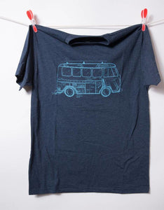 Womens Tee VW Bus Yoga Tee