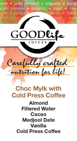 Almond Cacao w/ Cold Press Coffee