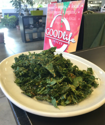 Nacho Average Kale Chips