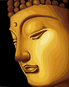 Buddha Art Paint by Numbers