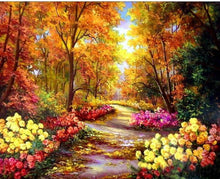 Load image into Gallery viewer,  Floral Pathway Paint by Numbers