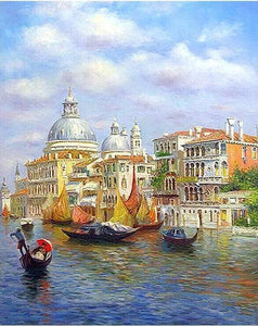Tour to Venice Paint by Numbers