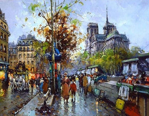 Paris View Paint by Numbers