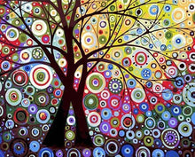 Load image into Gallery viewer, Abstract Tree DIY Painting Kit