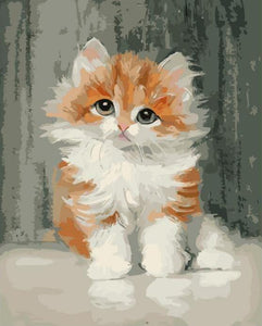 Adorable Cat Paint by Numbers