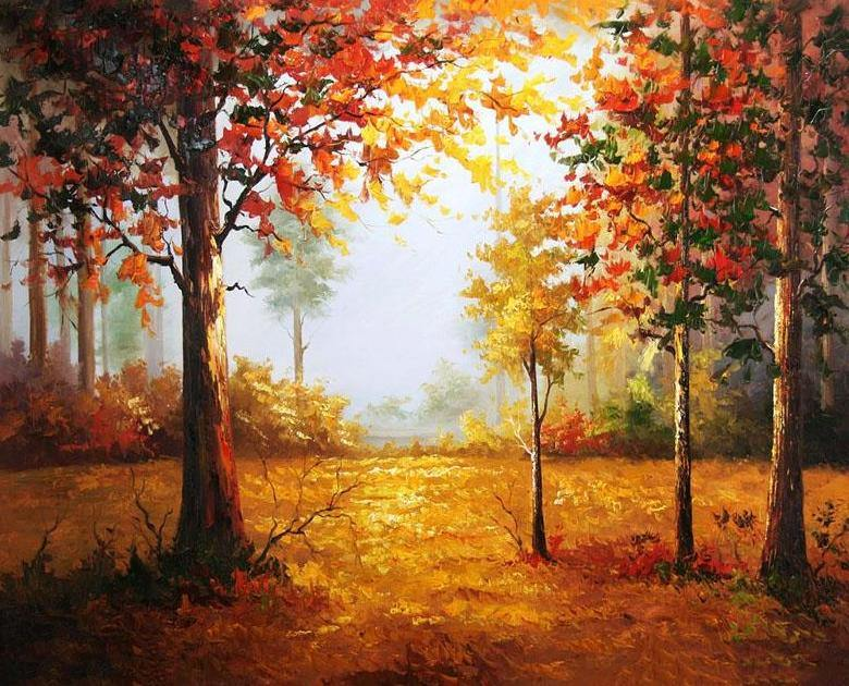 Autumn Forest DIY Painting Kit