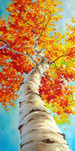 Load image into Gallery viewer, Autumn Tree Paint by Numbers Kit
