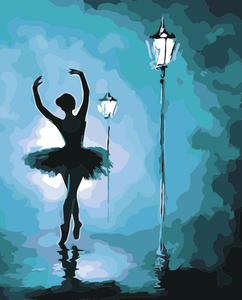 Ballerina DIY Painting Kit