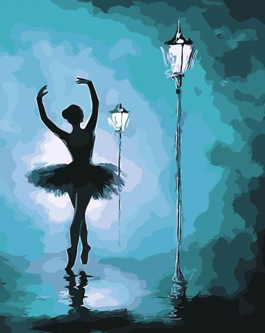 Ballerina Dancer DIY Painting Kit