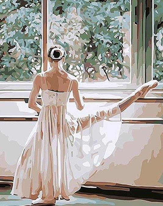 Ballet Dance Performance Paint by Numbers