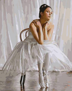 Ballet Dancer Paint by Numbers
