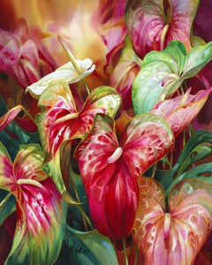 Beautiful Flowers Paint by Numbers
