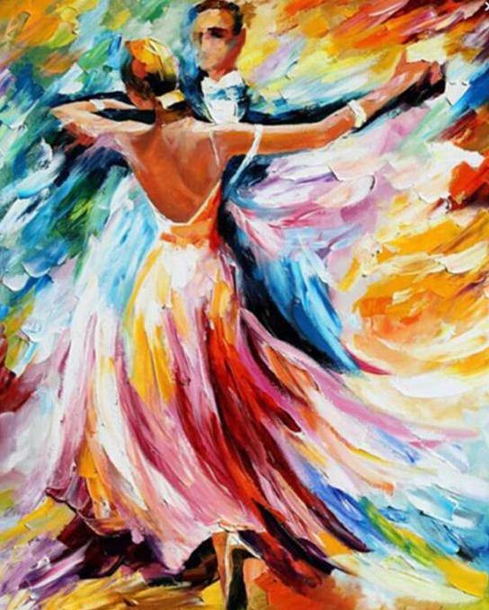 Beautiful Tango Paint by Numbers