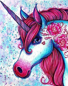 Beautiful Unicorn Paint by Numbers