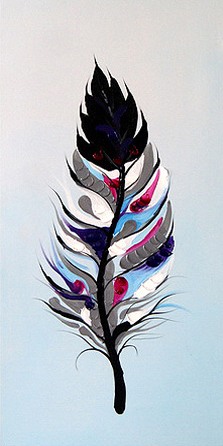 Birds Feather DIY Painting Kit